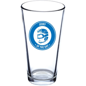 Jerry of the Day Pint Glass drink