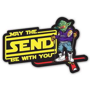 Jerry of the Day May The Send Be With You Sticker