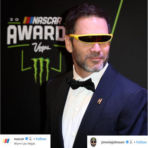 Jerry of the Day Send-O-Vision 1.0 Glasses Jimmie Johnson.