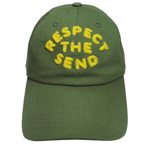 Respect the Send Baseball Hat