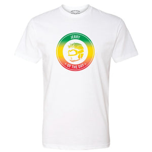 Jerry of the Day Tricolor Logo Tee