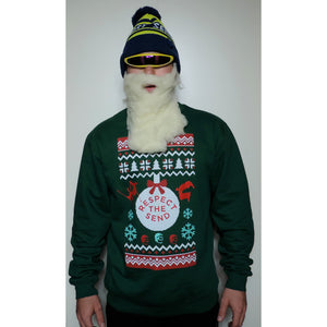 Respect the Send Ugly Holiday Sweatshirt