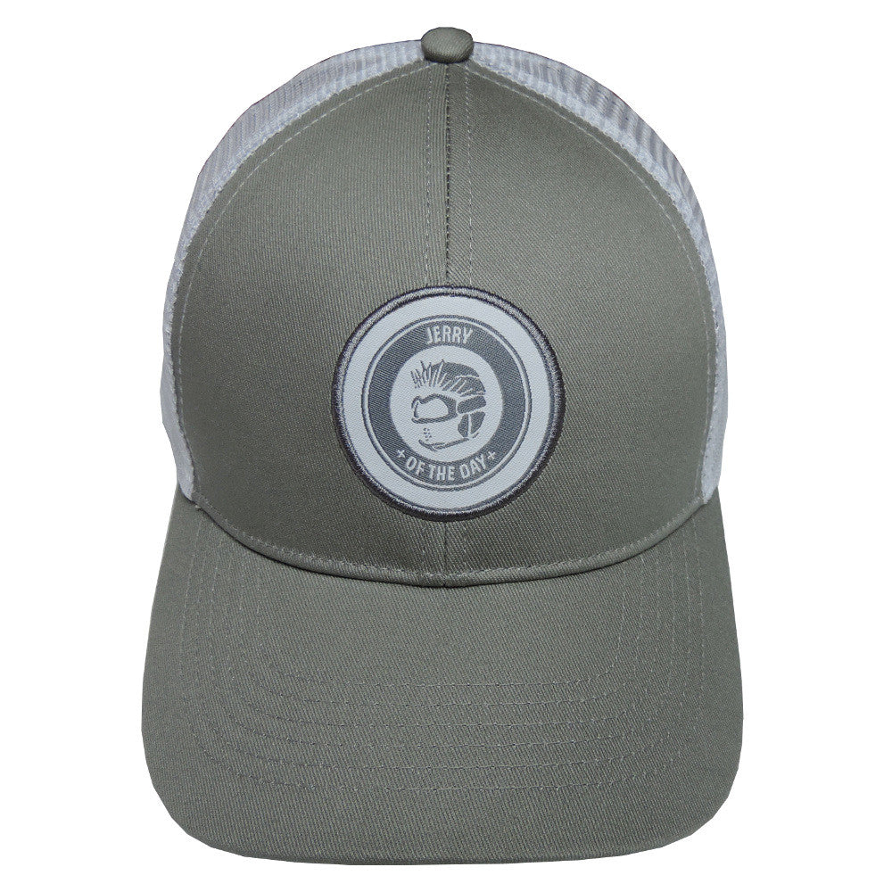 d03329dccb6 Jerry of the Day Logo Golf Trucker Hat