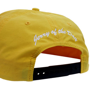 Jerry of the Day Respect the Send String Grandpa Hat Yellow Back