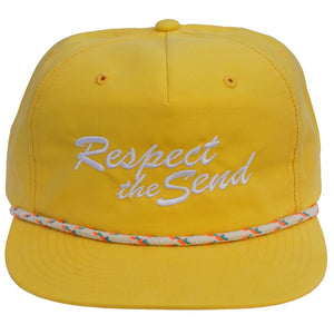 Jerry of the Day Respect the Send String Grandpa Hat Yellow