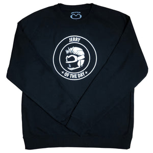 Jerry of the Day Crew Neck Sweatshirt Black And White