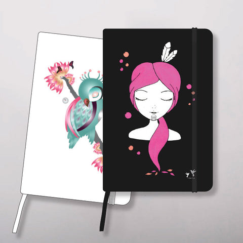Ema Frost designed A5 notebook