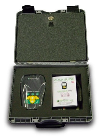 Motorscan 6050 in a carrying case