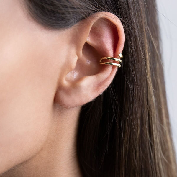 Star Ear Cuff - Adina's Jewels