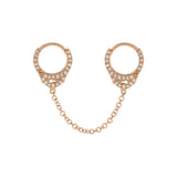 14K Rose Gold / Single / 1
