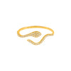 Diamond Serpent Wrap Ring 14K - Adina's Jewels