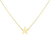 14K Gold Mini Star Necklace 14K - Adina's Jewels
