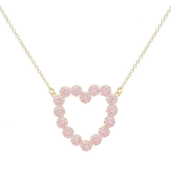 Heart Stone Necklace - Adina's Jewels