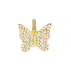 Pavé Butterfly Ear Cuff  - Adina's Jewels