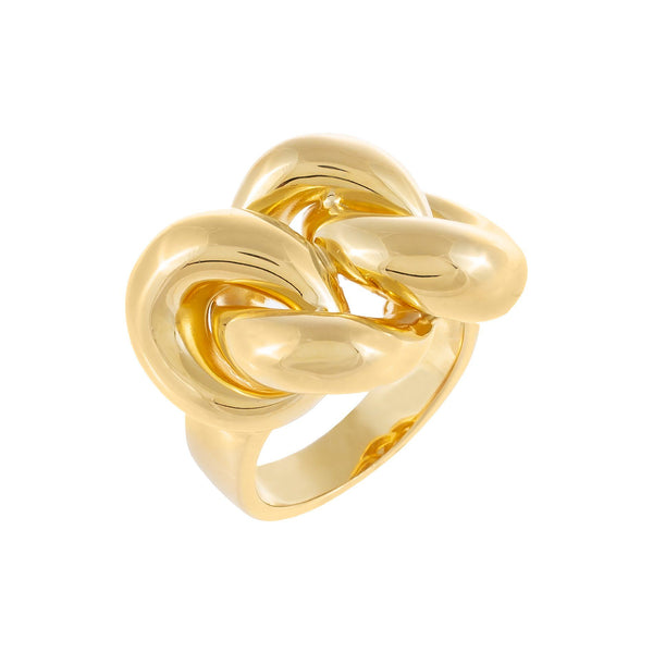 Gold / 8 Chunky Chain Ring - Adina's Jewels