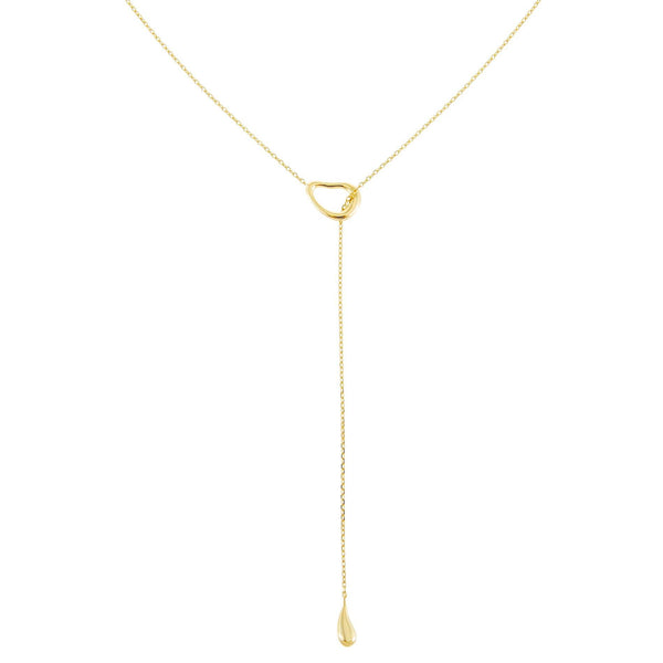 Solid Teardrop Toggle Lariat