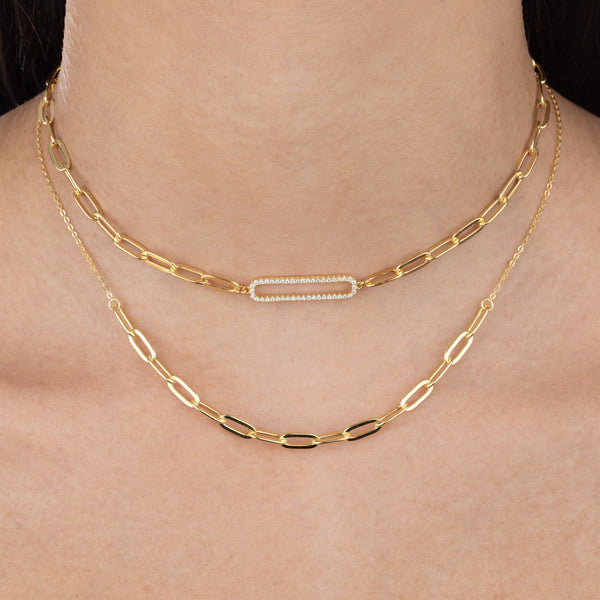 Link Chain Necklace  - Adina's Jewels