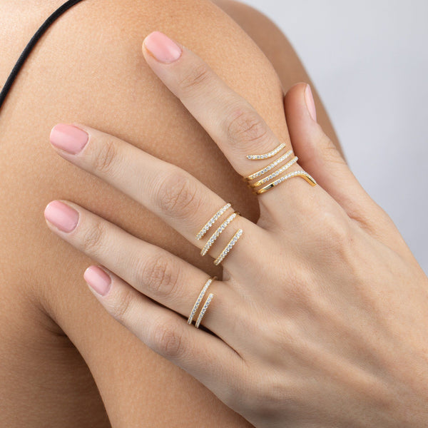 Pavé Wrap Ring