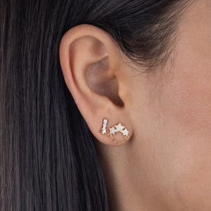 CZ Mini Star Stud Earring  - Adina's Jewels