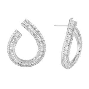 Earrings Silver - Adina's Jewels