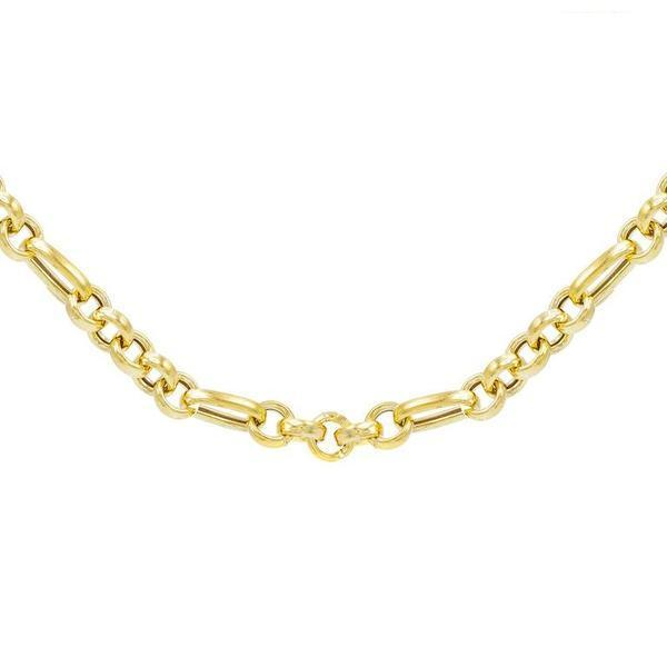 Gold / Choker Chunky Chain Choker - Adina's Jewels