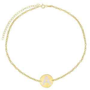 14K Gold / Engraved Engraved Coin Choker 14K - Adina's Jewels