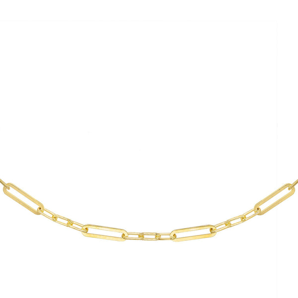 "Gold / 27"" Multi Link Necklace - Adina's Jewels"