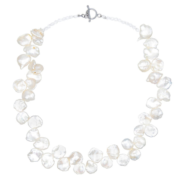 Keshi Pearl Necklace - Adina's Jewels