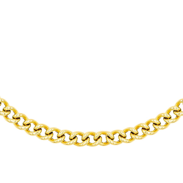 Gold Large Chain Necklace - Adina's Jewels