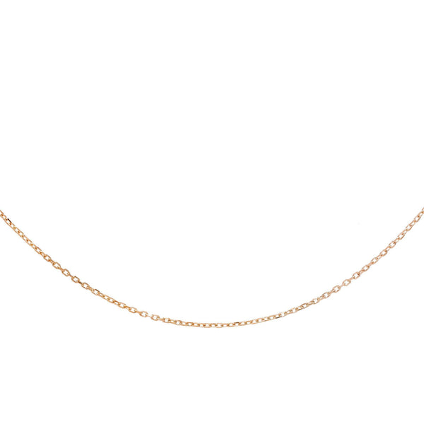 Rose Gold Chain Necklace - Adina's Jewels
