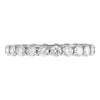 Diamond Round Eternity Band 14K  - Adina's Jewels