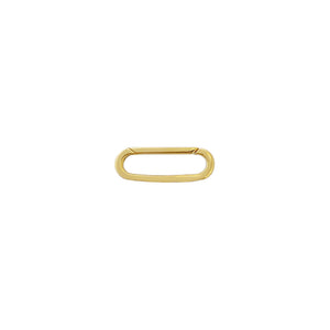 Solid Toggle Charm 14K 14K Gold - Adina's Jewels