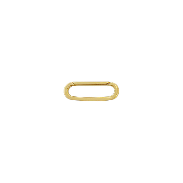 Mini Ball Threader Hoop Earring 14K 14K Gold - Adina's Jewels