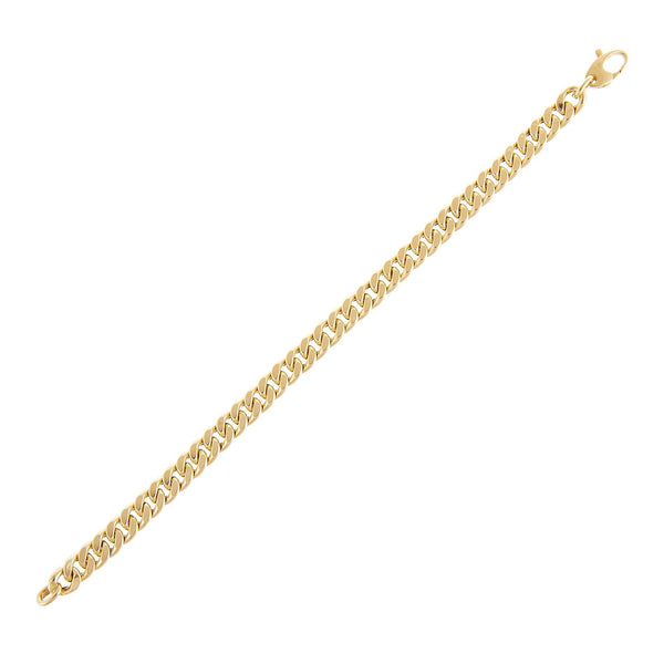 14K Gold Miami Cuban Link Bracelet 14K - Adina's Jewels