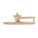 Diamond Star Wrap Ring 14K  - Adina's Jewels