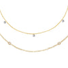 CZ Anklet Combo Set Gold - Adina's Jewels