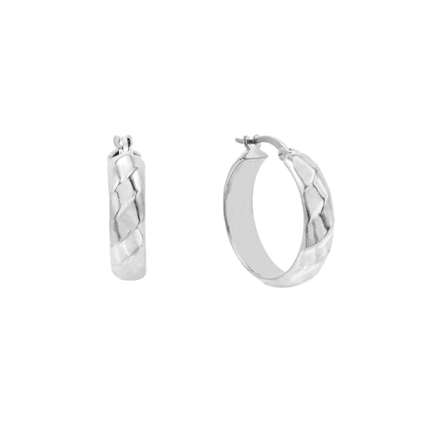 Wide Twisted Hoop Earring - Adina's Jewels