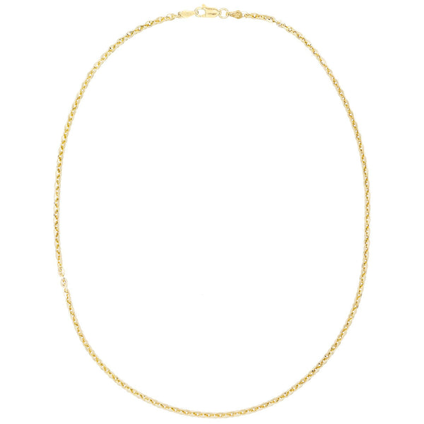 "Gold / 18"" Round Chain Necklace - Adina's Jewels"