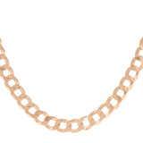 Rose Gold XL Cuban Chain Choker - Adina's Jewels