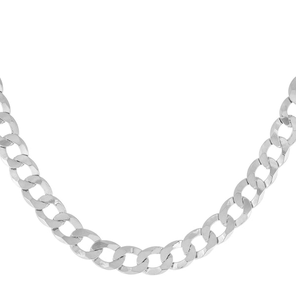 Silver XL Cuban Chain Choker - Adina's Jewels