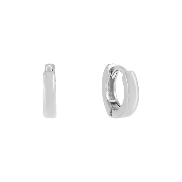 Solid Cartilage Huggie Earring  - Adina's Jewels