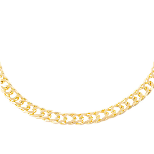 Wide Double Curb Choker