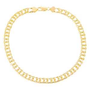 Wide Double Curb Choker  - Adina's Jewels