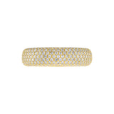 Pavé Round Band  - Adina's Jewels
