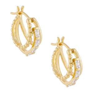 Multi Hoop Earring Gold - Adina's Jewels