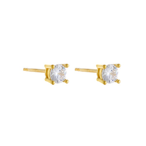 Mini Juliette Stud Earring Gold - Adina's Jewels