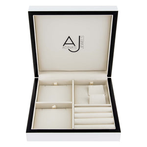 Crystal White Adina's Jewelry Box - Adina's Jewels