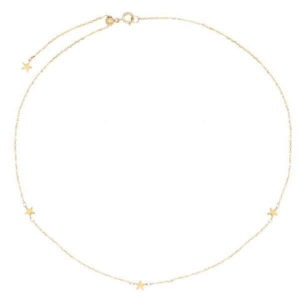 Star Choker 14K - Adina's Jewels