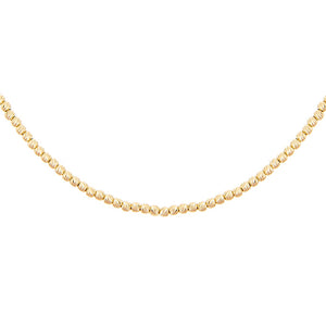 14K Gold Beaded Adjustable Choker 14K - Adina's Jewels