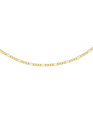 Gold Figaro Necklace - Adina's Jewels